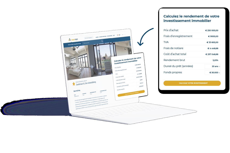 Exemple d'intégration sur site Web
